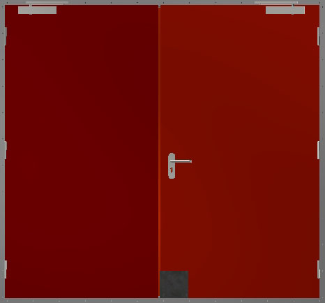 Hdr Double Leaf Hinged Door Metalstyle